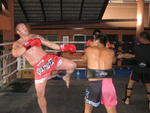 lee mayo | muay thai boxing martial arts sport kickboxing instructor