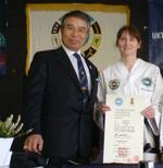 Helen  Bennett   Taekwon-do instructor