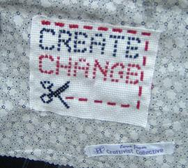 CRAFTIVISM - mini protest banner making