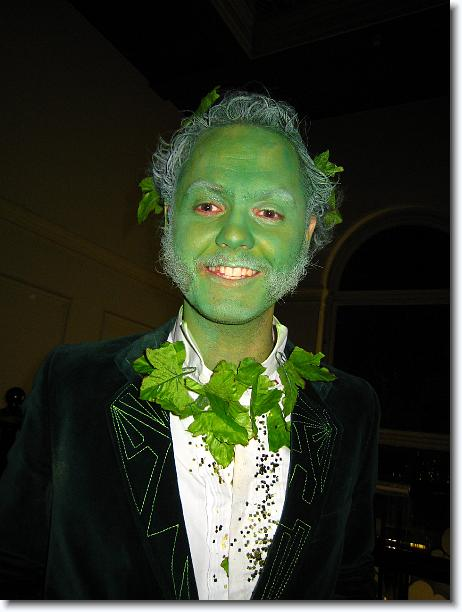 Pete as Greenman