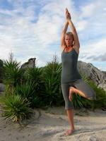 Danielle Nicholls   yoga teacher