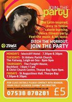 Rita Booker | zumba fitness instructor