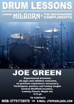 Joe Green | drum tutor