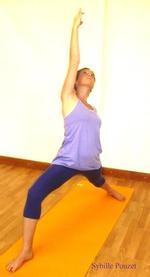 Sybille Pouzet   yoga teacher