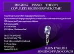 Ellen English | Piano & Singing tutor