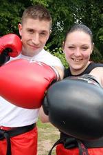 Lee & Jo  Jones | Kickboxing instructor