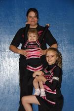 julie pugh   Cheerleading coach