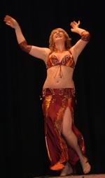 Kay Taylor | Egyptian style belly dance teacher