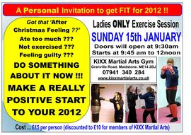 LADIES ONLY Fun & Fitness Exercise Session