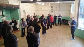 Tai Chi for patient rehabilitation course