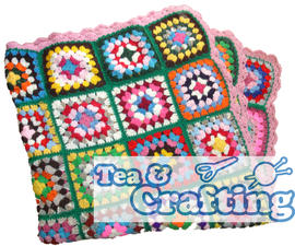 Tuesday 7pm - BEGINNERS CROCHET - GRANNY SQUARES - LEARN HOW TO CROCHET