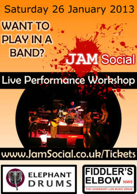 Sing with a live band - day workshop