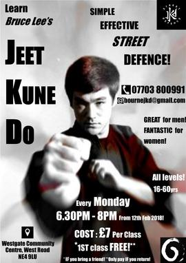 Newcastle IFO JKD Club Class Opening!