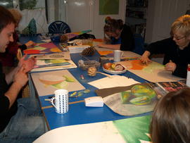 Children's holiday painting & drawing morning