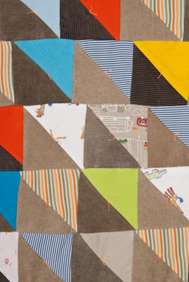 Piecing patchwork