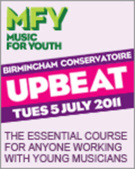 UPBEAT the essential course for anyone working with young musicians