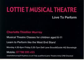 Lottie T Musical Theatre