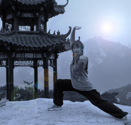 Shaolin Fitness Exercise to Music Class