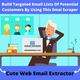 Get Targeted Email Lists Of Potential Clients For Email Marketing