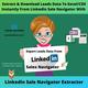 Export Leads Data From Linkedin Sale Navigator To Excel Instantly