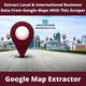 Extract/Scrape Local & International Business Data From Google Maps