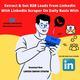 How Can I Scrape/Generate B2B Leads Data From LinkedIn?