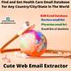 Find, Scrape, and Get Health Care Email Database In Minutes