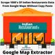 How Can I Scrape Indian Business Listings Data From Google Maps?