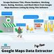 How To Scrape Business Data From Google Maps?