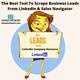 How To Scrape Business Leads From LinkedIn?