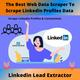 Scrape Linkedin Profiles With Linkedin Lead Extractor