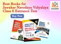 Best books for Jawahar Navodaya Vidyalaya class 6 entrance test