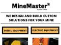 Mine Master selling Mining Equipment Spare Parts Ontario